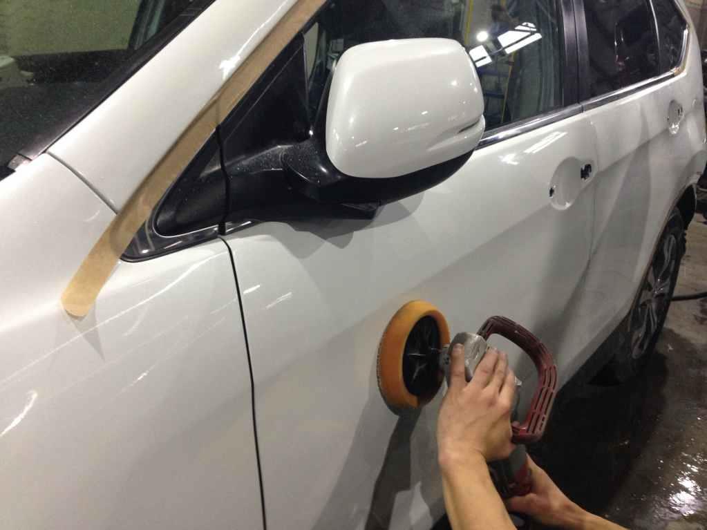 Полеровка кузова авто 5